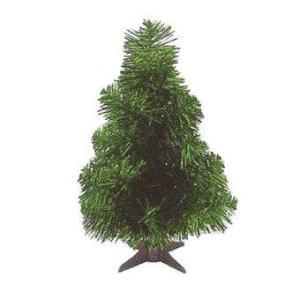 AllMerry Christmas ต้นคริสต์มาส 1ฟุต (ชุด 4 ต้น) - สีเขียว