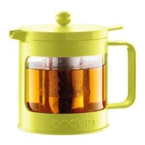 Bodum Bean tea press 1.0l/34oz. ( Green )