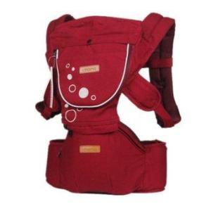 nanarak เป้อุ้มเด็ก Hip Seat Carrier (สีแดง)