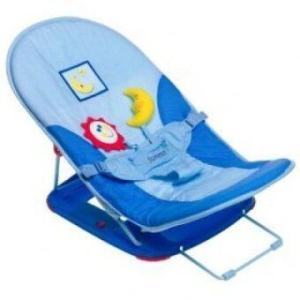 Babybearonline เตียงพับพกพาสำหรับเด็ก รุ่น FS519 (สีฟ้า)