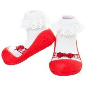 Attipas รองเท้าหัดเดิน Ballet Red ( LimitedEdition )
