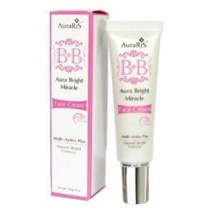 AuraRIS บีบีครีม ครีมกันแดด บีบีหน้าขาว ขาวใส ปกปิดรอยสิว คล้ำ จุดด่างดำ BB Face Cream SPF30 PA+++ - 10 ml.