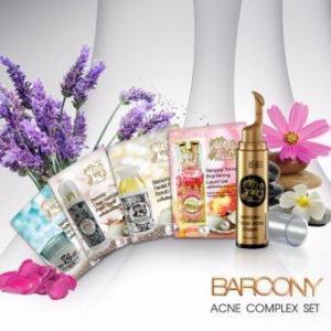 Barcony Exclusive Acne Set เซ็ท 5 ขั้นตอนขจัดสิว (เซ็ทเล็ก)