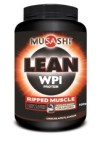 Musashi Lean Whey Protein Isolate 900g - Chocolate