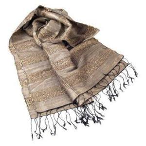 Ananta Silk Scarf ผ้าพันคอผ้าไหม รุ่น S7