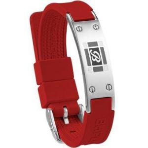 BH.PLUS สายรัดข้อมือเพื่อสุขภาพ Saint Mable - Red