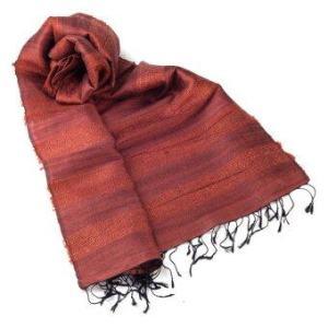 Ananta Silk Scarf ผ้าพันคอผ้าไหม รุ่น S1