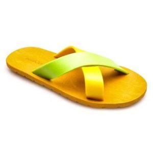 blackOut รองเท้าแตะ BO-1001 (สีเหลือง-เขียว)