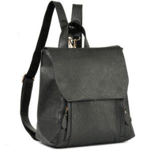 Women leather backpack shoulder bag for teenage girls school bag Red - Intl