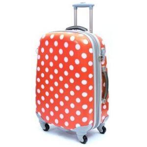 Ambassador Luggage กระเป๋าเดินทาง 29 นิ้ว รุ่น POLKA ZT922907 - สีแดง