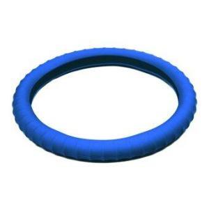 3D Maxpider หุ้มพวงมาลัยซิลโคน - Blue
