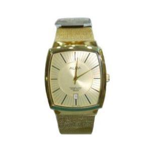 Alba นาฬิกาข้อมือ รุ่น Smart Gents AXHL60X1 - สีทอง
