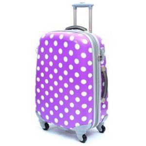 Ambassador Luggage กระเป๋าเดินทาง 25 นิ้ว รุ่น POLKA ZT922912 - สีม่วง