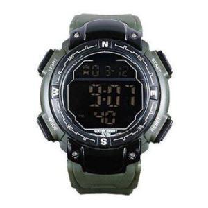 AK-Sport Premium Multifunctional Alarm Stopwatch รุ่น MAME AKPM1 (สีเขียว)