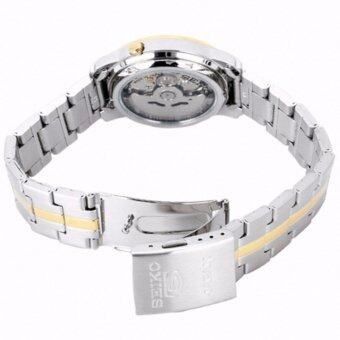 SEIKO 5 Automatic TwoTone Silver Dial Stainless Steel Men's Watch รุ่น SNKL84K1 (7S26-03S0SG)(Silver) รีวิว