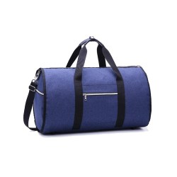 Convertible 2 in 1 Garment Bag with Shoulder Strap Luxury Garment Duffel Bag for Men Women Hanging Suitcase Suit Travel Bags