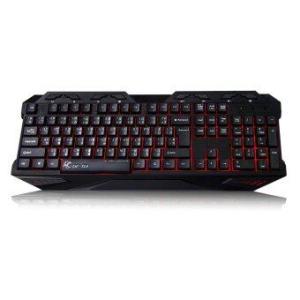 Tsunami GK-03 3 Colors LED Breathing Backlight Gaming USB Wired Keyboard