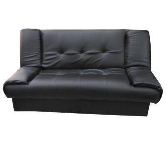 ENZIO โซฟาปรับนอนใหญ่พิเศษ หุ้มหนังอย่างดี รุ่น Nature-2 (สีดำ)คละแบบ 2ที่นั่ง รีวิว