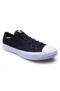Converse รองเท้าผ้าใบ รุ่น CHUCK TAYLOR ALL STAR II OX BLACK / WHITE - 121006074BK (Black/White)