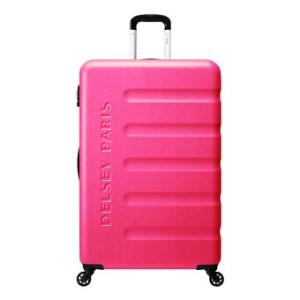 Delsey กระเป๋าเดินทางล้อลาก รุ่น ANJOU TROLLEY ขนาด 29 นิ้ว (สีชมพู)