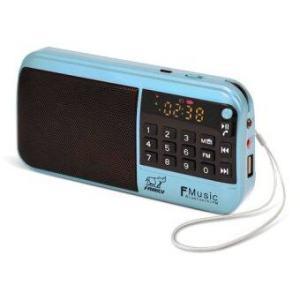 FAMILY F-MUSIC BOX FM1 กล่องเพลงเอนกประสงค์ 1500 เพลง (BLUE)