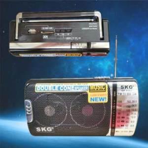 SKG Radio & SD Card รุ่น SR-6002 BT - สีดำ