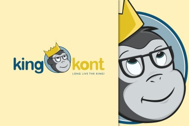 Logo design King Kont
