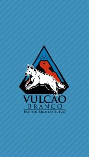 Imagem logo Vulcão Branco, Pastor Branco Suiço