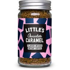 Little's Chocolate Caramel Flavour infused Instant Coffee 50g  ลิตเติ้ลส์ กาแฟสำเร็จรูปรสช็อกโกแลต คาราเมล 50g