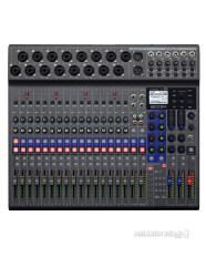 ZOOM : LiveTrak L-20 by Millionhead (ดิจิตอลมิกเซอร์พร้อมเครื่องบันทึกเสียง Zoom LiveTrak L-20, Built-In 22-Track SD Recorder, USB Audio Interface)