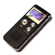 nikyเครื่องบันทึกเสียง IC Recorder มาพร้อมหน่วยความจำในตัว 8 GB (สีดำ)