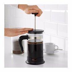 เหยือกชงชากาแฟ เครื่องชงชา/กาแฟแบบง่าย อุปกรณ์ชงเครื่องดื่มมีตัวกรองให้  ขนาด 1ลิตร