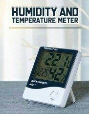 เครื่องวัดอุณหภูมิและความชื้น เครื่องวัดอุณหภูมิและความชื้นในอากาศระบบดิจิตอล