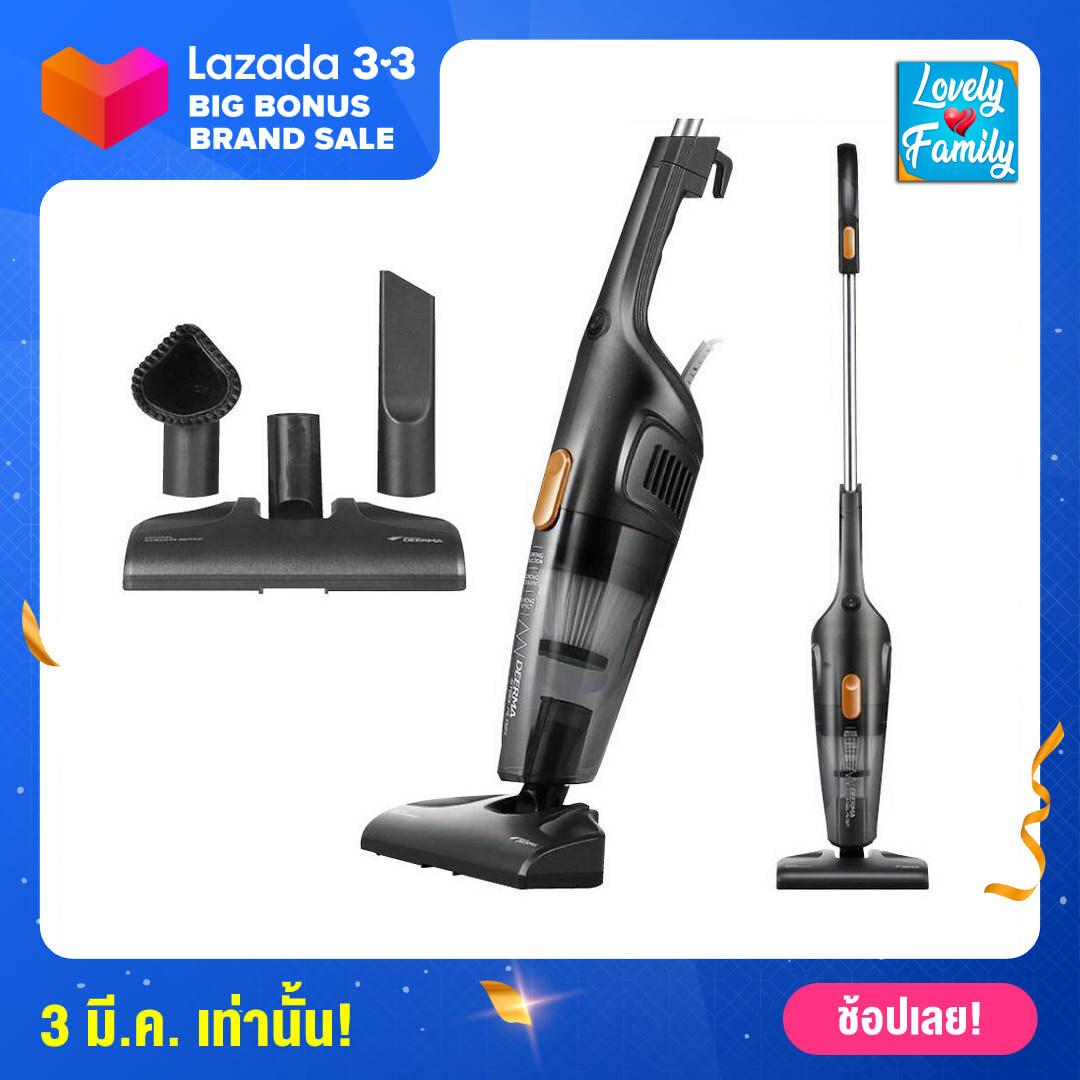 👍[ประกันศูนย์] Deerma dx115c / dx118c vacuum cleaner เครื่องดูดฝุ่น