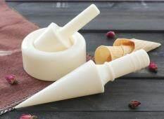 ชุดพิมพ์ม้วน กรวยไอศกรีม พร้อมพิมพ์ถ้วย ไอศกรีม.