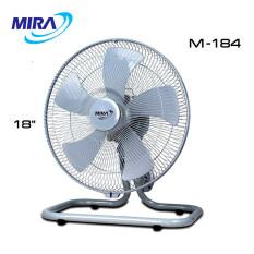 [3แบบ] MIRA พัดลมอุตสาหกรรมแบบตั้งพื้น พัดลมตั้งพื้น 18 นิ้ว ส่ายได้ รุ่น M-184, M-184S, M-187 พัดลมอุตสาหกรรม พัดลม Floor Fan โฮมฮัก