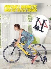 """3 Bicycle Trainer เทรนเนอร์จักรยาน สำหรับฝึกการปั่นเพื่อการออกกำลังกายหรือฝึกซ้อม ให้ความรู้สึกเหมือนการปั่นบนถนนจริง ใช้งานร่วมกับจักรยานขนาด 700C / 26"""" / 28"""""""