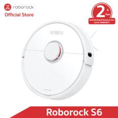 [รับประกัน 2 ปีเต็มกับศูนย์ Roborock Care] หุ่นยนต์ดูดฝุ่น ถูพื้น อัจฉริยะ โรโบร็อค Roborock S6 (Global Version)