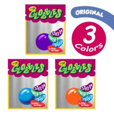 [รุ่นแยกแพ็คเดี่ยวx3] Crayola 3Ct. Globbles ลูกยางติดหนึบ3สี