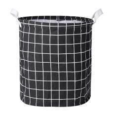 SOKE ตะกร้าผ้า ขนาดใหญ่ ของใช้ในบ้าน ห้องนอน ตะกร้าใส่ผ้า แบบพับเก็บได้