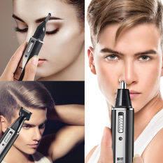 เครื่องโกนหนวด เครื่องโกนหนวดไฟฟ้าไร้สาย อุปกรณ์โกนหนวด ตัดแต่งขนจมูก กันจอน โกนขนหู 3 IN 1 อย่างดี รุ่น KM-6630 Shaver Cordless electric shaver Shaving tools Good nose and ear trimmer, shaving, ear hair 3 in 1. Good model