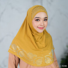 ผ้าคลุมผม มุสลิม แบบสำเร็จ HJ40