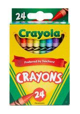 Crayola สีเทียนไร้สารพิษ 24แท่ง