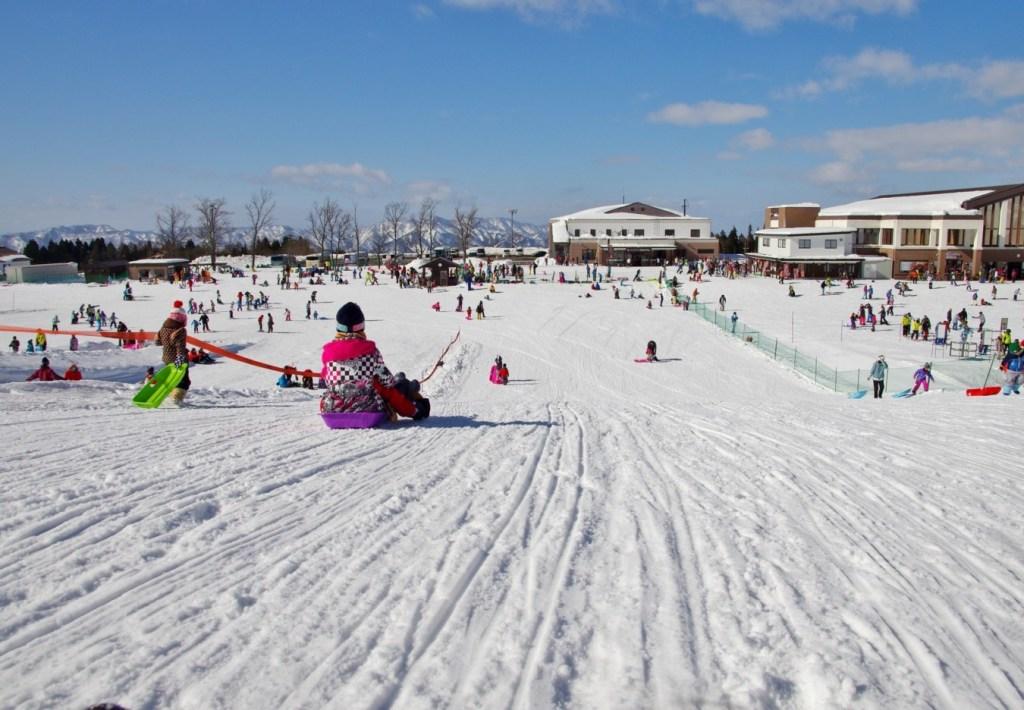 ร็อคโค สโนวพาร์ค Rokko Snow Park (โอซาก้า)