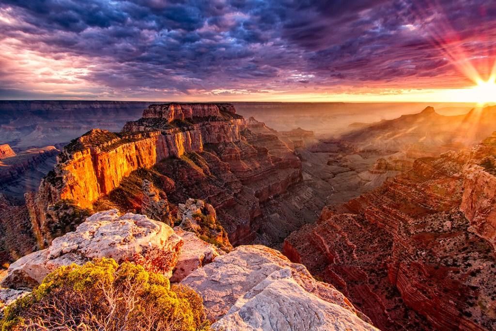 อุทยานแห่งชาติแกรนด์ แคนยอน (Grand Canyon National Park)