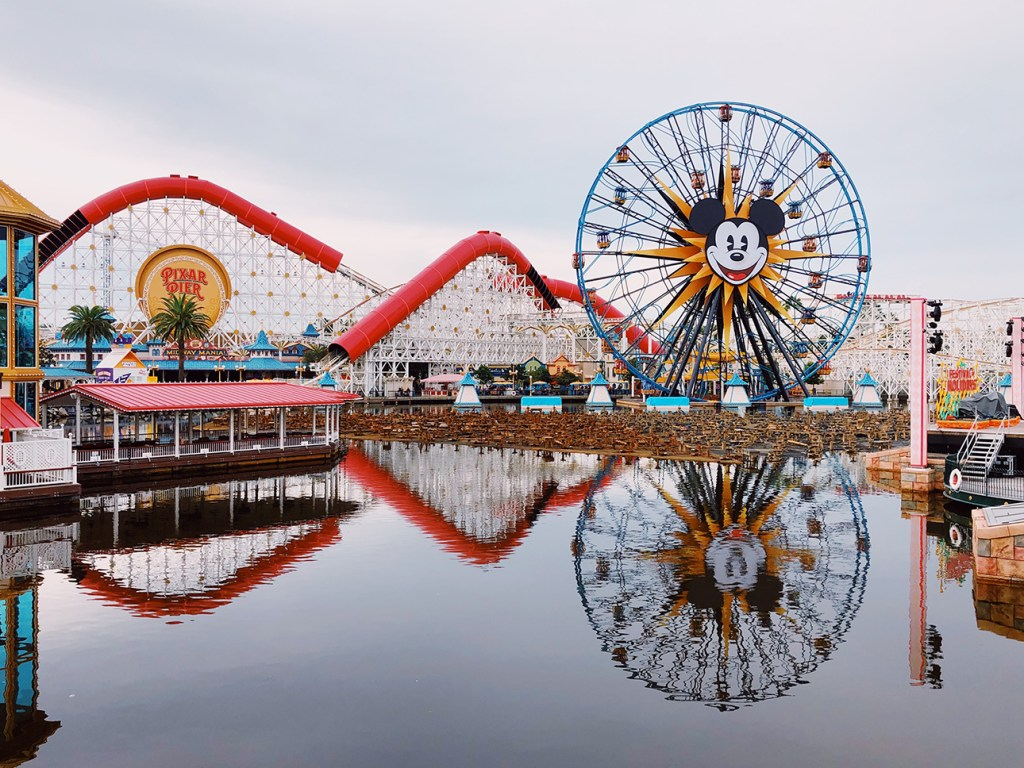 ดิสนีย์ปาร์ค/ดิสนีย์แคลิฟอเนีย Disneyland Park / Disney California Adventure Park