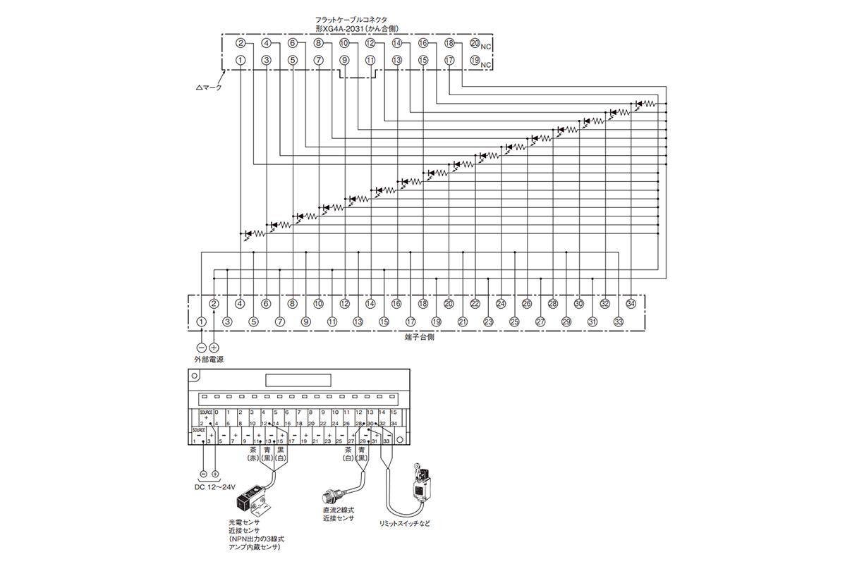 Connector Terminal Block Conversion Unit Common Type