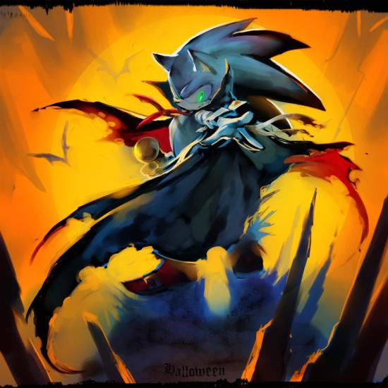 Halloween Sonic by MRi