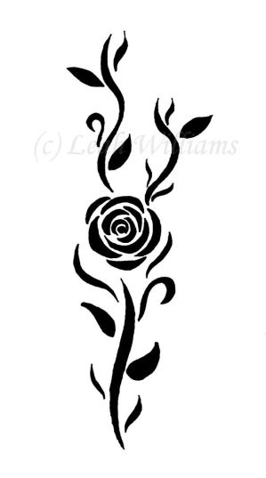 Flower Rose Tattoo Designs Picture 3