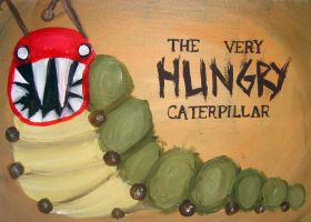 the very HUNGRY Caterpillar by xpuppeteerx14x on deviantart
